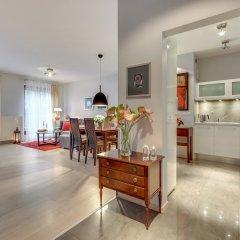 Апартаменты Blue Mandarin Apartments - Szafarnia питание