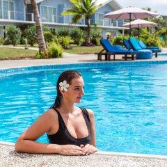 Отель Blue West Villas бассейн