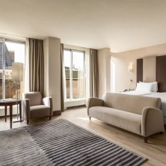 Отель NH Amsterdam Centre 4* Стандартный номер с двуспальной кроватью фото 4