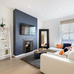 Апартаменты Kensington Area - Private Apartment Лондон комната для гостей