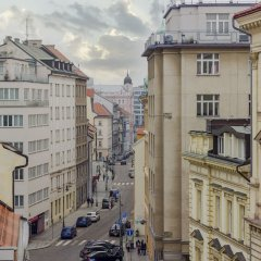 Апартаменты Terrace Apartment Prague комната для гостей фото 3