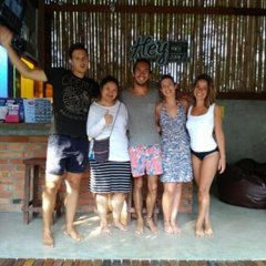 Hey beach hostel Ланта интерьер отеля фото 2