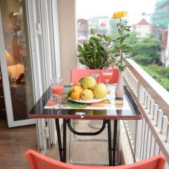 Отель Golden Land Hotel Вьетнам, Ханой - 1 отзыв об отеле, цены и фото номеров - забронировать отель Golden Land Hotel онлайн балкон