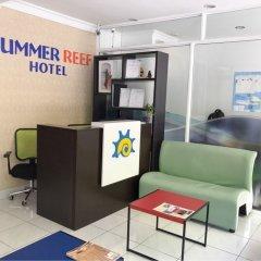 Отель Summer Reef Мальдивы, Мале - отзывы, цены и фото номеров - забронировать отель Summer Reef онлайн интерьер отеля фото 2