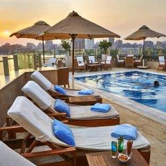 Kempinski Nile Hotel Cairo бассейн