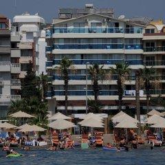 Moda Beach Hotel Турция, Мармарис - отзывы, цены и фото номеров - забронировать отель Moda Beach Hotel онлайн пляж фото 2