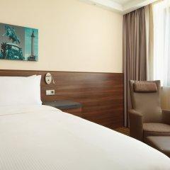 Отель Хэмптон бай Хилтон Санкт-Петербург Экспофорум комната для гостей фото 4