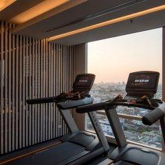 Отель Marriott Bangkok The Surawongse Бангкок фитнесс-зал фото 2