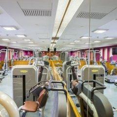 Отель Crowne Plaza Bangkok Lumpini Park фитнесс-зал фото 3
