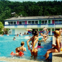 Отель Strand-Appartements Burgstaller бассейн