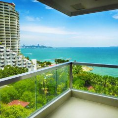 Отель The Palm Wongamat Beach Pattaya Паттайя балкон