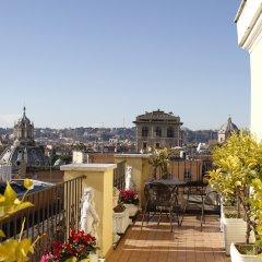Отель Pace Helvezia балкон