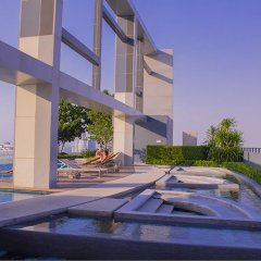 Отель 1Br Centric Sea 812 With Infinity Pool Паттайя бассейн