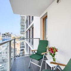 Апартаменты P&O Apartments Kasprzaka балкон