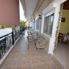 Отель Studios Kostas & Despina балкон