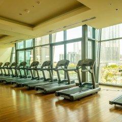 Отель Bravoway Burj Vista 1 in Downtown Dubai фитнесс-зал фото 3