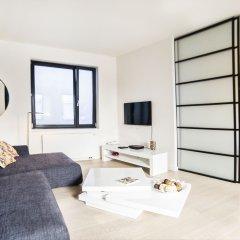 Апартаменты Apartments Smartflats Saint-Géry Garden Flats Брюссель комната для гостей фото 2