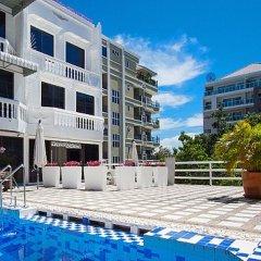 Отель Pratumnak Point Villa - 3 Bedroom бассейн