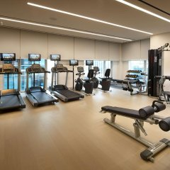 Отель Shilla Stay Mapo фитнесс-зал
