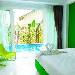 Отель The Frutta Boutique Patong Beach комната для гостей фото 9