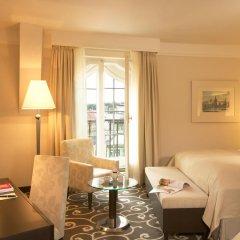 Отель Grand Bohemia Прага комната для гостей фото 4