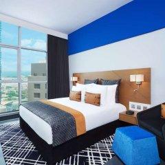 Отель TRYP by Wyndham Dubai ОАЭ, Дубай - 5 отзывов об отеле, цены и фото номеров - забронировать отель TRYP by Wyndham Dubai онлайн комната для гостей фото 3