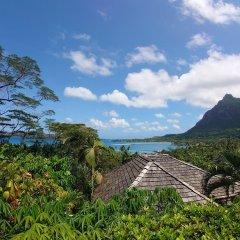 Отель Rohotu Fare Французская Полинезия, Бора-Бора - отзывы, цены и фото номеров - забронировать отель Rohotu Fare онлайн пляж