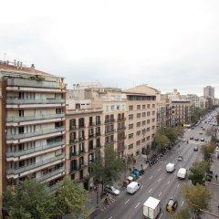 Отель Barnapartments Rambla Cataluña Испания, Барселона - отзывы, цены и фото номеров - забронировать отель Barnapartments Rambla Cataluña онлайн балкон