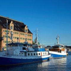 Отель 71 Nyhavn Копенгаген приотельная территория