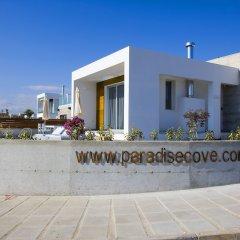Отель Paradise Cove Luxurious Beach Villas Кипр, Пафос - отзывы, цены и фото номеров - забронировать отель Paradise Cove Luxurious Beach Villas онлайн вид на фасад фото 2