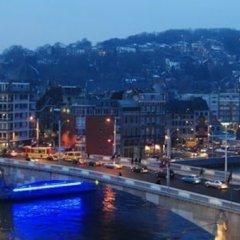 Отель Hôtel Passerelle Liège Бельгия, Льеж - отзывы, цены и фото номеров - забронировать отель Hôtel Passerelle Liège онлайн балкон