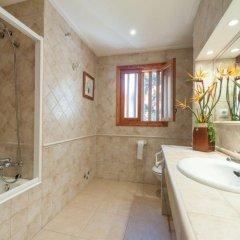Отель Villa Marta Испания, Санта-Понса - отзывы, цены и фото номеров - забронировать отель Villa Marta онлайн ванная фото 2