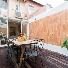 Апартаменты Liberty Patio Two-Bedroom Apartment w/ Patio - by LU Holidays балкон