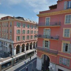 Hotel Univers Ницца балкон