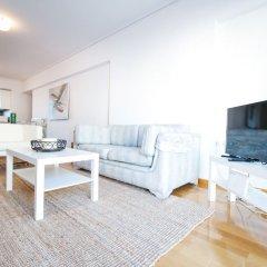 Апартаменты Modern 5thfloor Acropolis view apartment комната для гостей фото 5