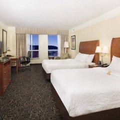 Отель Hilton Garden Inn Montreal Centre-Ville Канада, Монреаль - отзывы, цены и фото номеров - забронировать отель Hilton Garden Inn Montreal Centre-Ville онлайн комната для гостей фото 5