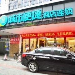 Отель City Comfort Inn Guangzhou Railway Station Sanyuanli Metro Station парковка