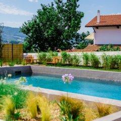 Отель Restaurant Santiago Франция, Хендее - отзывы, цены и фото номеров - забронировать отель Restaurant Santiago онлайн бассейн фото 3