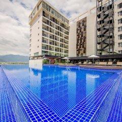 Отель Quinter Central Nha Trang Вьетнам, Нячанг - отзывы, цены и фото номеров - забронировать отель Quinter Central Nha Trang онлайн бассейн фото 2