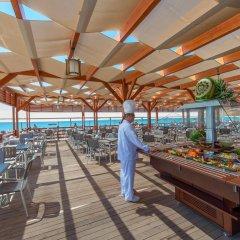 Отель Kirman Belazur Resort And Spa Богазкент питание фото 2