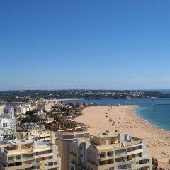 Отель Apartamentos Turisticos Jardins Da Rocha пляж