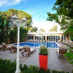 Отель Sandy Beach Resort Албания, Голем - отзывы, цены и фото номеров - забронировать отель Sandy Beach Resort онлайн бассейн
