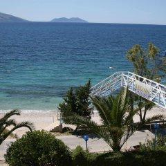 Regina Hotel пляж