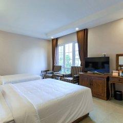 Отель Hoang Lan Hotel Вьетнам, Хошимин - отзывы, цены и фото номеров - забронировать отель Hoang Lan Hotel онлайн комната для гостей фото 2