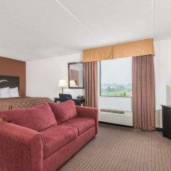 Отель Days Inn Lebanon Fort Indiantown Gap комната для гостей фото 3