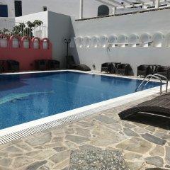 Отель Blue Sky Hotel Греция, Остров Санторини - отзывы, цены и фото номеров - забронировать отель Blue Sky Hotel онлайн бассейн фото 3