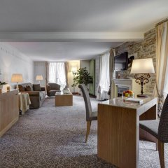 Отель Les Sources Des Alpes комната для гостей