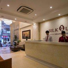 Отель Silk Queen Grand Hotel Вьетнам, Ханой - отзывы, цены и фото номеров - забронировать отель Silk Queen Grand Hotel онлайн интерьер отеля фото 3