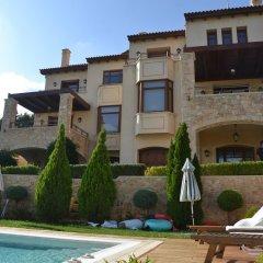 Отель Villa Marina-Luxury Villa with Private Pool бассейн