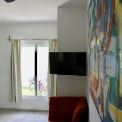 Отель Suite 24 Плая-дель-Кармен комната для гостей